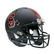 Stanford Cardinal Schutt XP Full Size Replica Helmet - Black Alternate Helmet #1