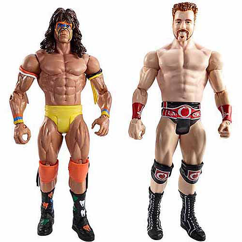 WWE WrestleMania Ultimate Warrior vs. Sheamus Battle Pack Action Figures, 2-Pack
