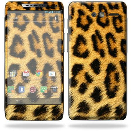 Skin Decal Wrap For Motorola Droid Razr M Cell Phone Cover Cheetah
