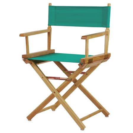 18 Quot Director S Chair Natural Frame Teal Canvas Walmart Com