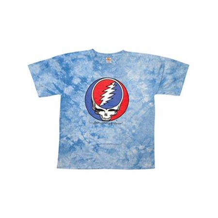 - Grateful Dead Men's  Steal Your Face Tie Dye T-shirt Multi