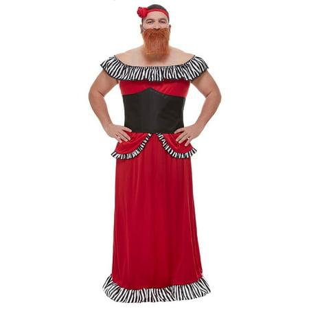 Bearded Lady Costume Adult - Bearded Clam Costume