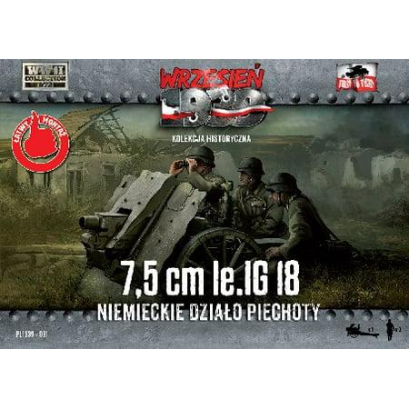 1/72 7,5cm LeIG 18 German Infantry Gun w/3 Crew - image 1 de 1