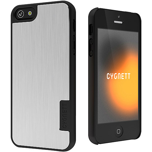 Cygnett iPhone 5 UrbanShield Hard Case with Metal Cover