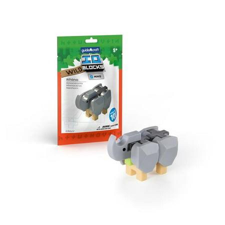 IO Blocks Minis Wild Rhino - 10 Pack