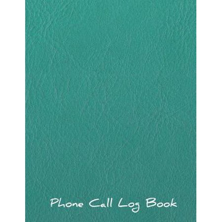 Phone Call Log Book: Voice Mail Telephone Memo Notebook Phone Message Tracker Record Book 8.5 X 11 Inches Journal Book 4 Messages Per Page Paperback (Call Log)
