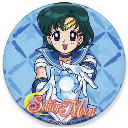 Sailor Moon Mercury (Sailor Moon Mercury Button GE-82007)