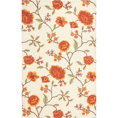 Nourison Vista Ikat Perennial Design Decorative Rug