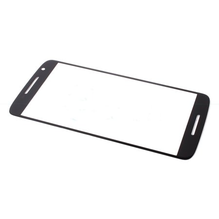 Motorola Moto X Play XT1562 Outer Top Glass Lens Replacement - Black - image 1 of 1