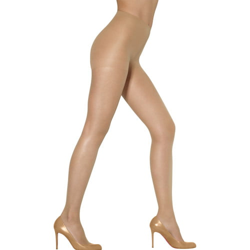 Leggs 3 Pair Size A Sheer Energy Comfort Pantyhose Control Top Soft Black
