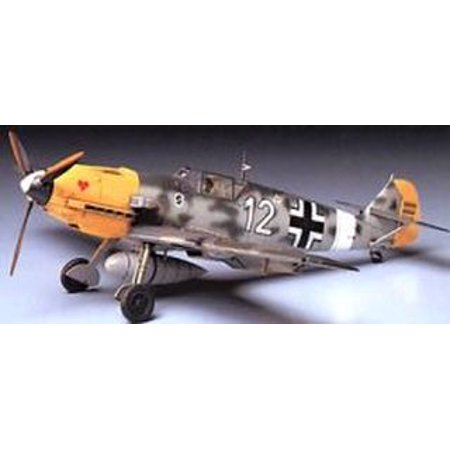 Model Plane (Messerschmitt Br109e-4/7 1/48 Plane Plastic Model Kit)