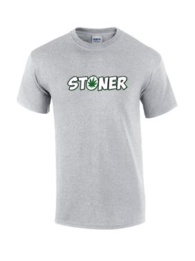 feb877ca Product Image Funny Stoner Marijuana Leaf Adult Short Sleeve T-shirt. Trenz  Shirt Company