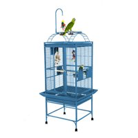 A and E Cage Co. Medium Playtop Cage-Platinum