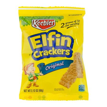 Kellogg's Keebler Original Elfin Animal Crackers Cookies 2.12oz (PACK OF 60) - 3d Halloween Cookies