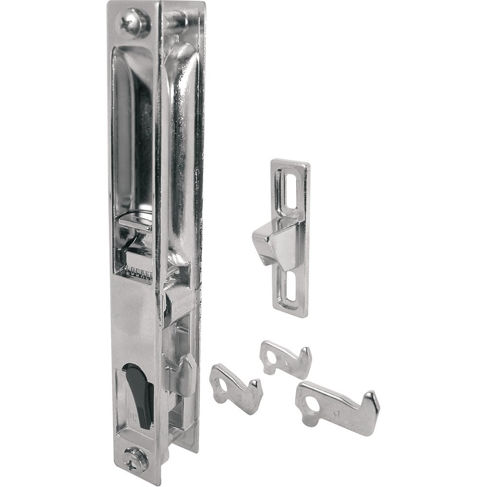 C 1045 Sliding Glass Door Handle Set 6 58 In Diecast Chrome