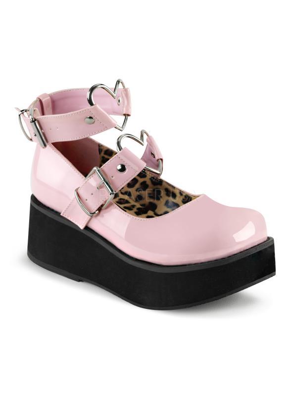 Demonia Platform Sandals & Shoes Womens SPR02/BPPT Size: 12