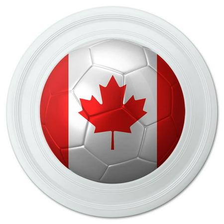 Canada Flag Soccer Ball Futbol Football Novelty 9