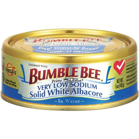 Bumble Bee Albacore Solid White Tuna In Water, 5 oz
