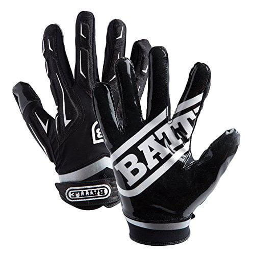 Battle Youth Hybrid Gloves, Black, Large