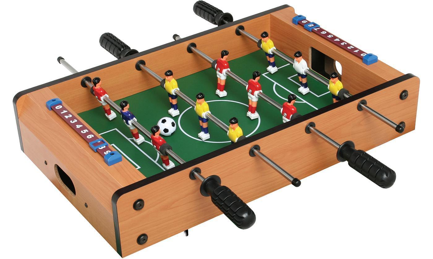Mini Funny Table-top Game Fuzboll//Foosball Ball Soccer Shaped White/&Black