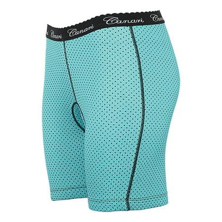 Canari Cyclewear Womens Crazy Cycling Short Liner - 7314 (Robins Egg Blue - (Best Canari Cycling Shorts)