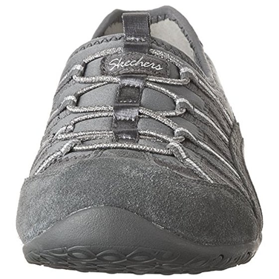 68d3184299940 Skechers Unity Beaming Womens Slip On Sneakers Charcoal/Silver 6