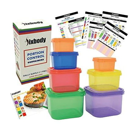 21 day portion control containers color coded labeledlose weight 21 day portion control containers color coded labeledlose weight system 7 pieces forumfinder