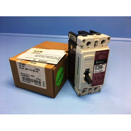 NEW Cutler-Hammer HFD2100K 100A Molded Case Switch 600V HFD-K 2 Pole 100 Amp NIB