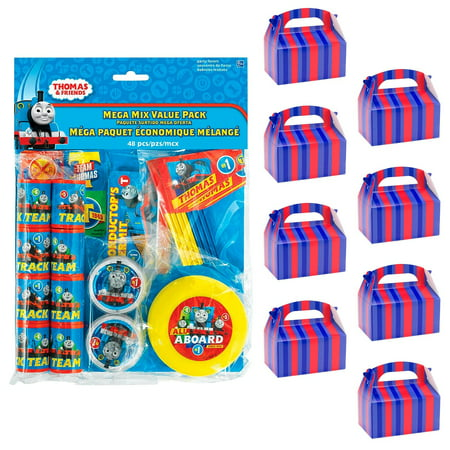 Thomas Train Party Favors (Thomas the Train Filled Favor Box Kit (For 8)