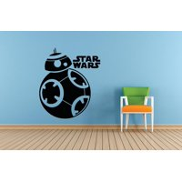 Star Wars Characters Movie Series Logo Children Kids School Classroom Custom Wall Decal Vinyl Sticker 12 Inches X 12 Inches