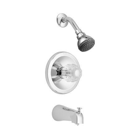LDR 013 7100CP Chrome Tub & Shower Faucet Set ()