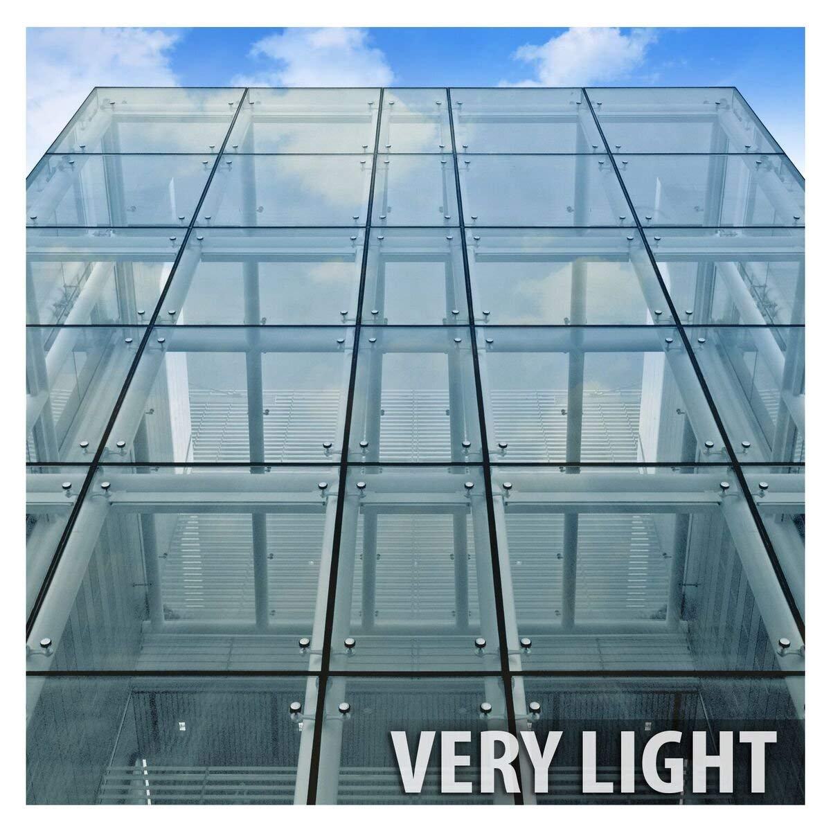 BDF HNC70 Premium Heat Control and Energy Saving Chrome Window Film (Very Light) 36in X 24ft by BuyDecorativeFilm