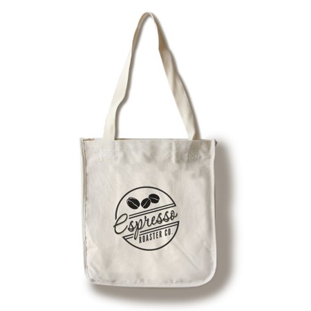 Espresso Roaster Co. (white) - Lantern Press Artwork (100% Cotton Tote Bag -