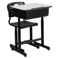 Lancaster Home Adjustable Height Student Desk and Chair