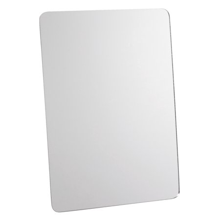 Bella Round Mirror - School Smart Rounded Corner Personal Mirror with Magnetic Back, 5 L x 7 W in