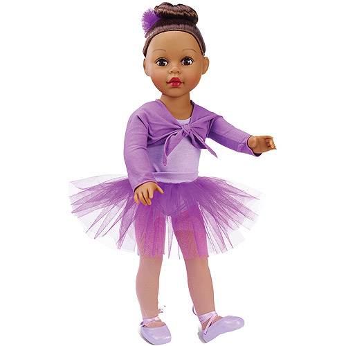 "My Life As Ballerina 18"" Doll, African American"