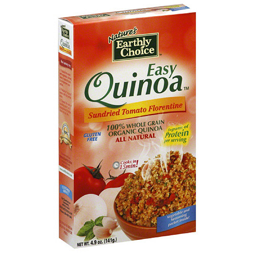 Nature's Earthly Choice Easy Sundried Tomato Florentine Quinoa, 4.9 oz, (Pack of 6)