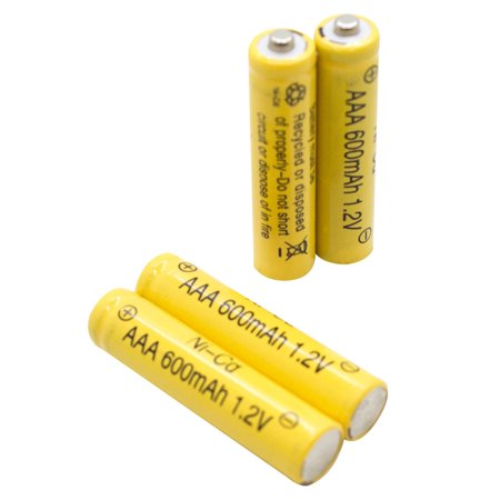 ASC AAA Ni-cd 600mah Solar Light Replacement Rechargeable Batteries (12 pack) ()