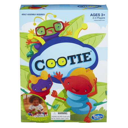 Classic Bug-Building Cootie Family Game, Ages 3 and (Best Sandbox Building Games)