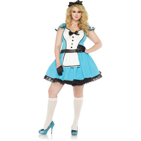 Leg Avenue Plus Size Storybook Alice Adult Halloween Costume - Costume Book