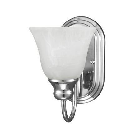 Sea Gull Lighting 41939BLE Windgate 1 Light Energy Star Bathroom -