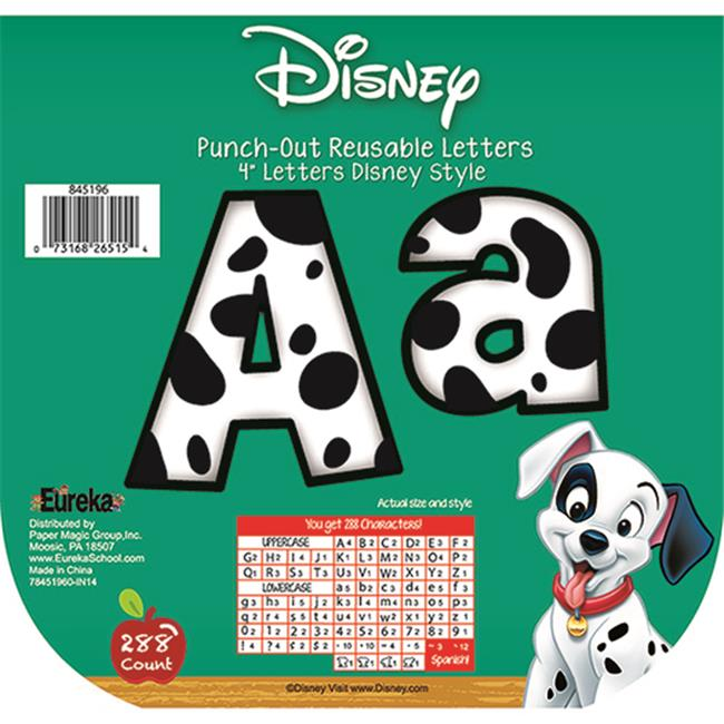 Eureka EU-845196 101 Dalmatians Spots Deco Letters - image 1 de 1