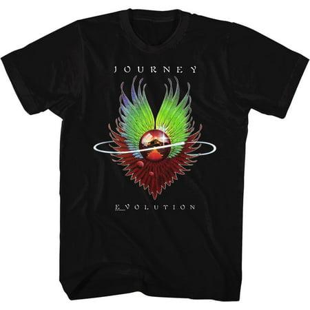 Journey Evolution Album Guitar Cover Rock Band Adult T-Shirt Tee - Halloween Albums