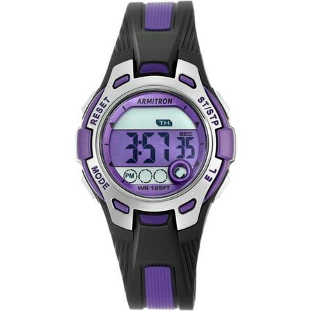 Armitron Diamond Watch - Armitron Women's Round Sport Watch, Purple