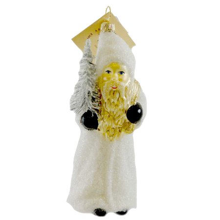 Gabriela Christoff ARCTIC JOURNEY Blown Glass Ornament Christmas Santa - Journey Santa