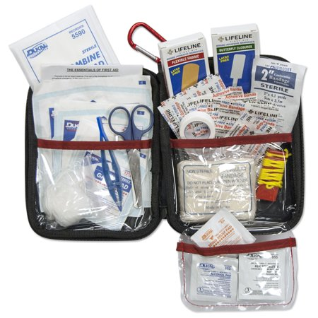 Large Hard-Shell Foam First Aid Kit - 85 Piece