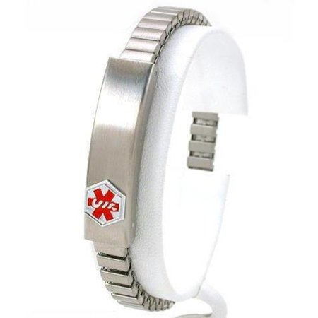 Medical ID Information Bracelet Stainless Steel 7