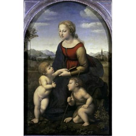 Virgin & Child with the Infant St John the Baptist 1507 Raphael...