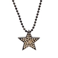 Crystaluxe Star Pendant with Swarovski Crystals