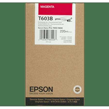 ~Brand New Original EPSON T603B00 INK / INKJET Cartridge Magenta for Epson Stylus Pro 9880 - image 1 of 1
